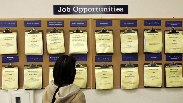 ما هي حالة التوظيف الكامل في الدولة 1