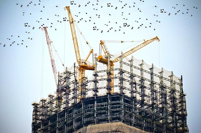 مشروع ربح رافعة مواد البناء المختلفة 1