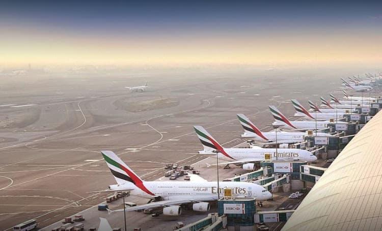 انخفاض حركة المسافرين في مطار دبي