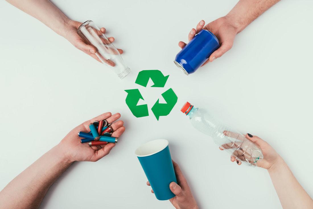 إعادة تدوير البلاستيك
