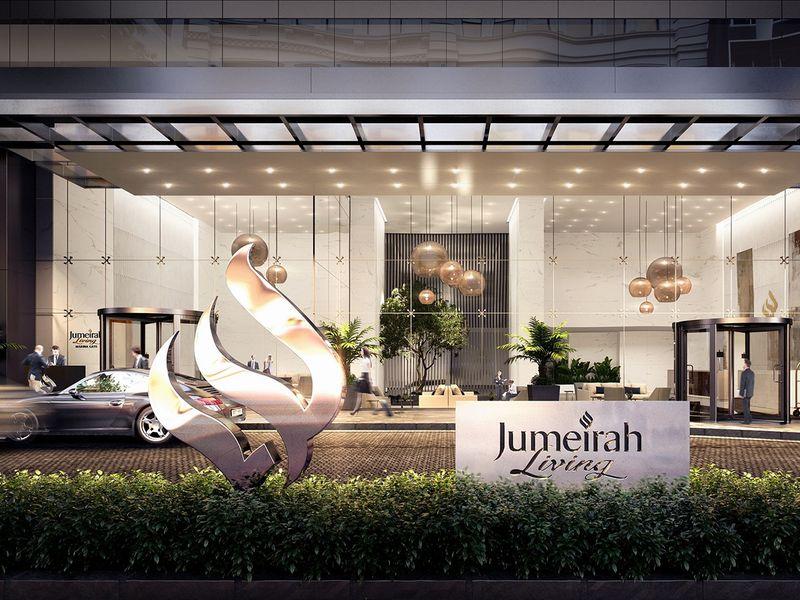 بالصور: افتتاح سكن جميرا ليفينج مارينا جيت في مارينا دبي 1