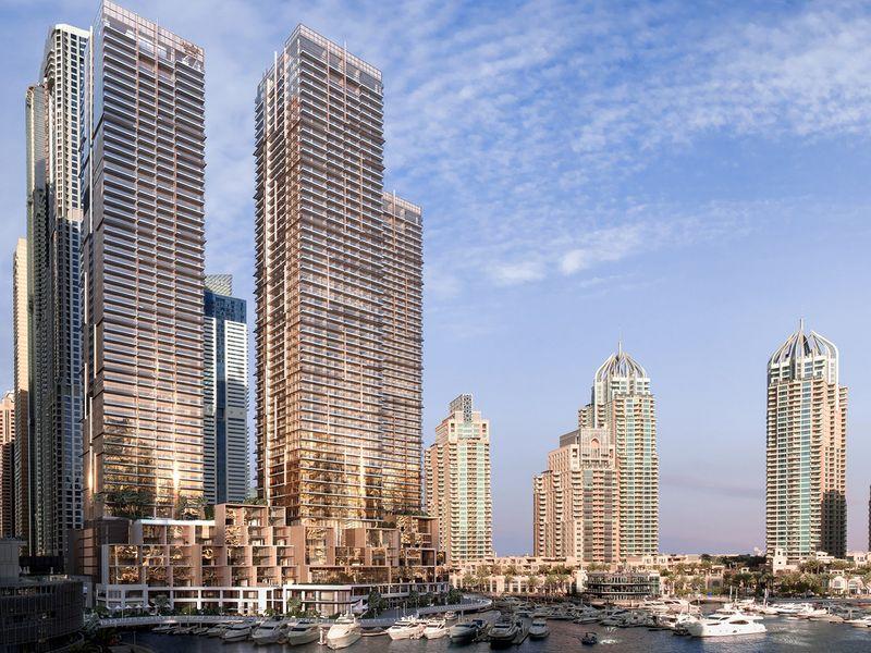 بالصور: افتتاح سكن جميرا ليفينج مارينا جيت في مارينا دبي 2